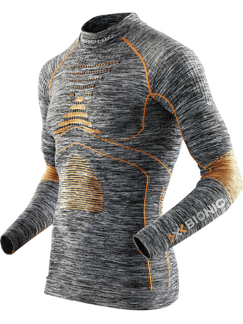 X-Bionic Accumulator Evo Melange - Sous-vêtement Homme - gris/orange
